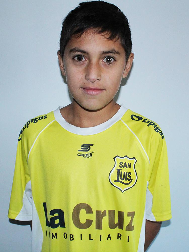 Alexis Calderón Sub 11