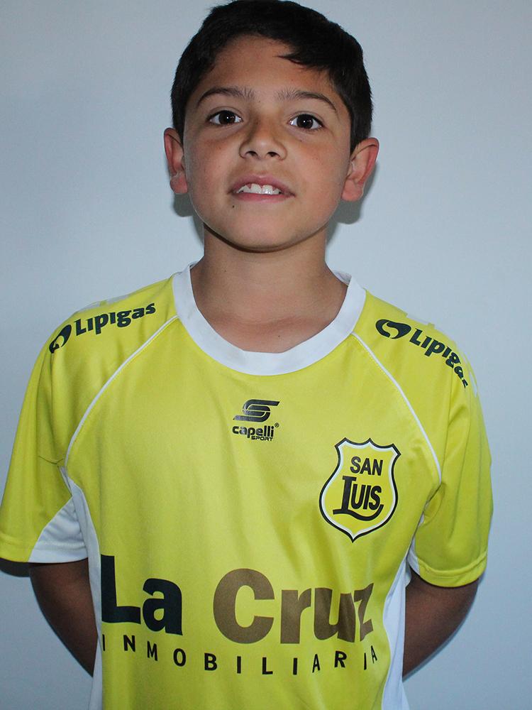 Felipe Carvajal Sub 12