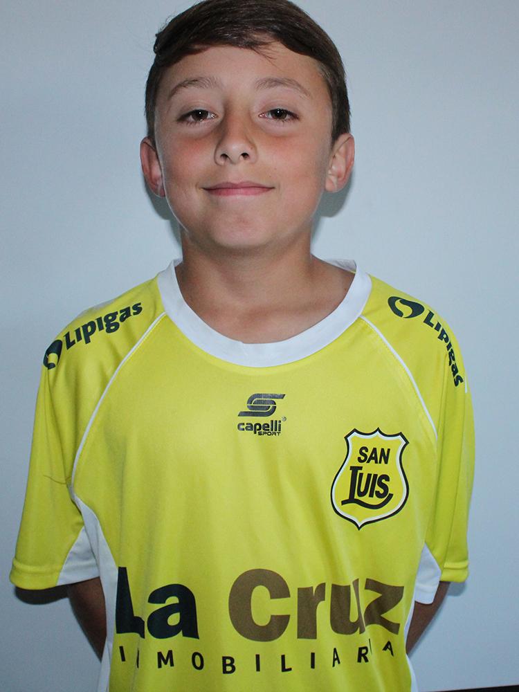 Tomás Pizarro Sub 12