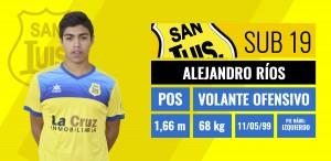 Alejandro Ríos - Volante Ofensivo