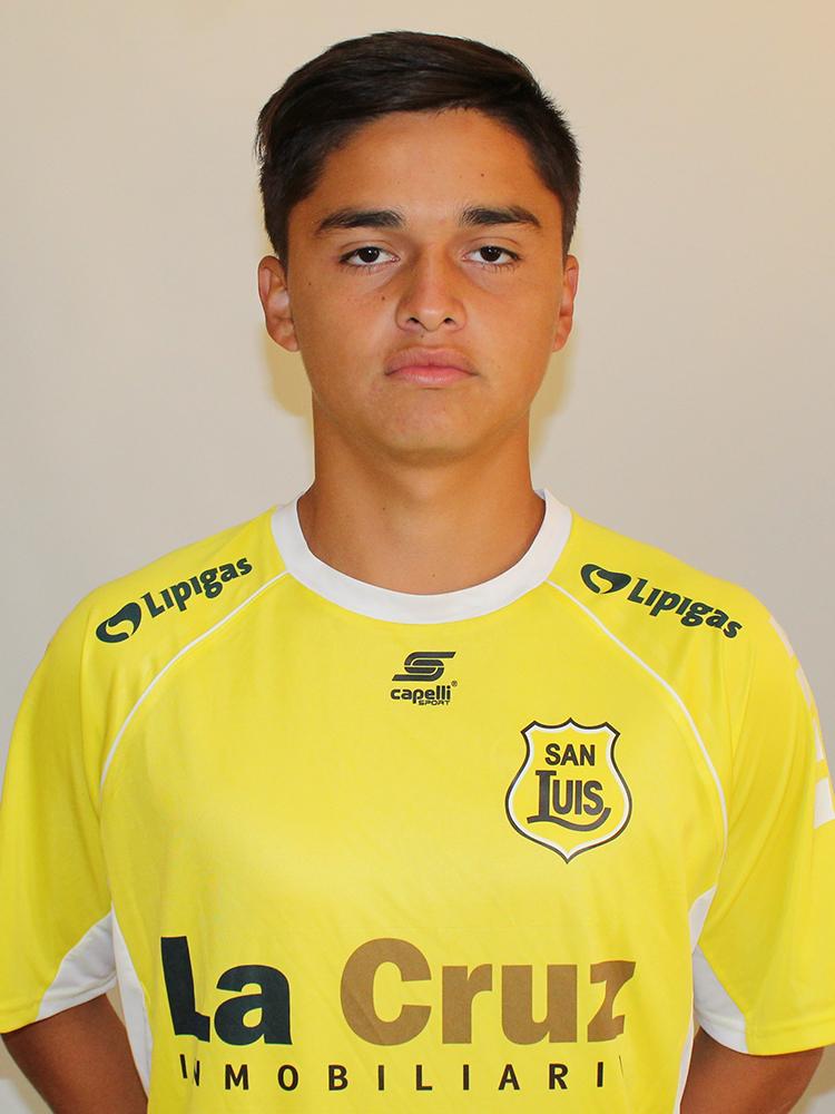 Bastian Díaz Sub 19 2018