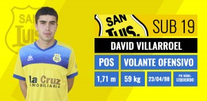 David Villarroel - Volante Ofensivo