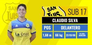 Delantero - Claudio Silva