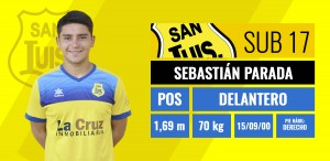 Delantero - Sebastián Parada