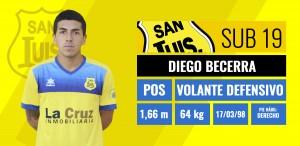 Diego Becerra - Volante defensivo