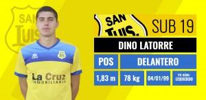 Dinio Latorre - Delantero