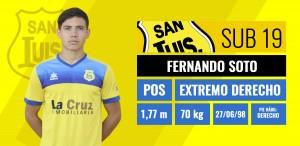 Fernando Soto - Extremo derecho