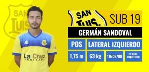 German Sandoval - Lateral izquierdo
