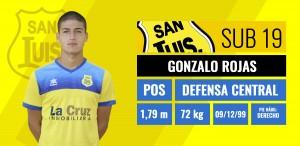 Gonzalo Rojas - Defensa central