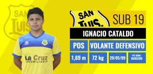 Ignacio Cataldo - Volante defensivo