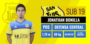 Jonathan Bonilla - Defensa Central