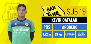 Kevin Catalan - Arquero