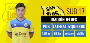Lateral izquierdo - Joaquín Jeldes