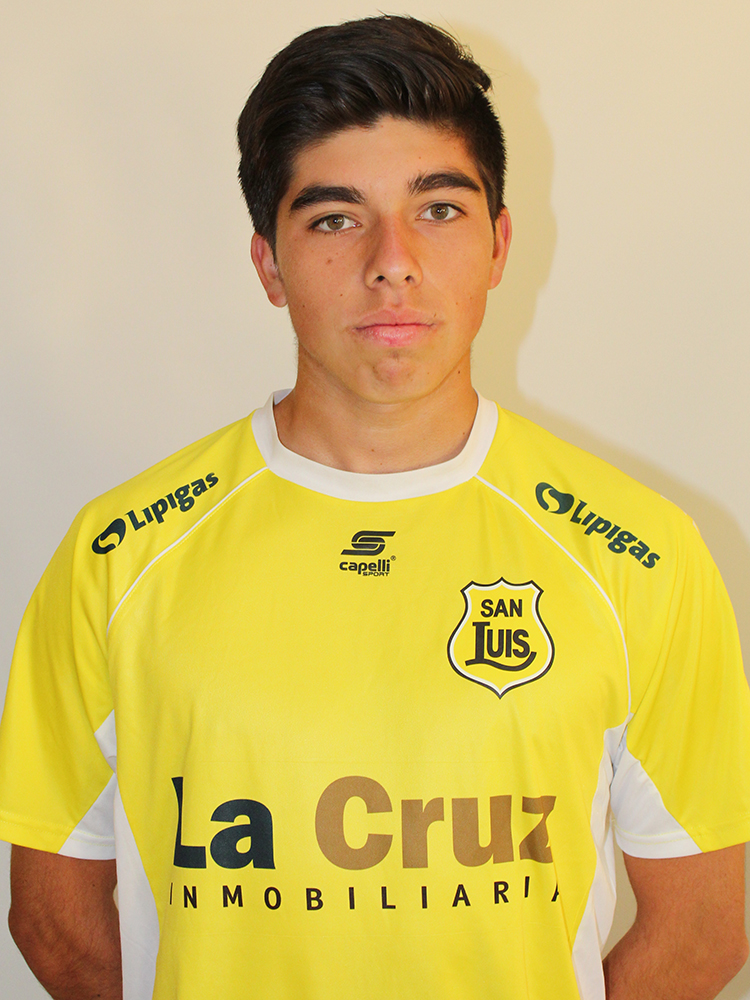 Matías Valdivia Quiroz Sub 17 2018