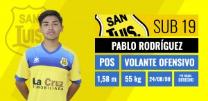 Pablo Rodríguez - Volante ofensivo