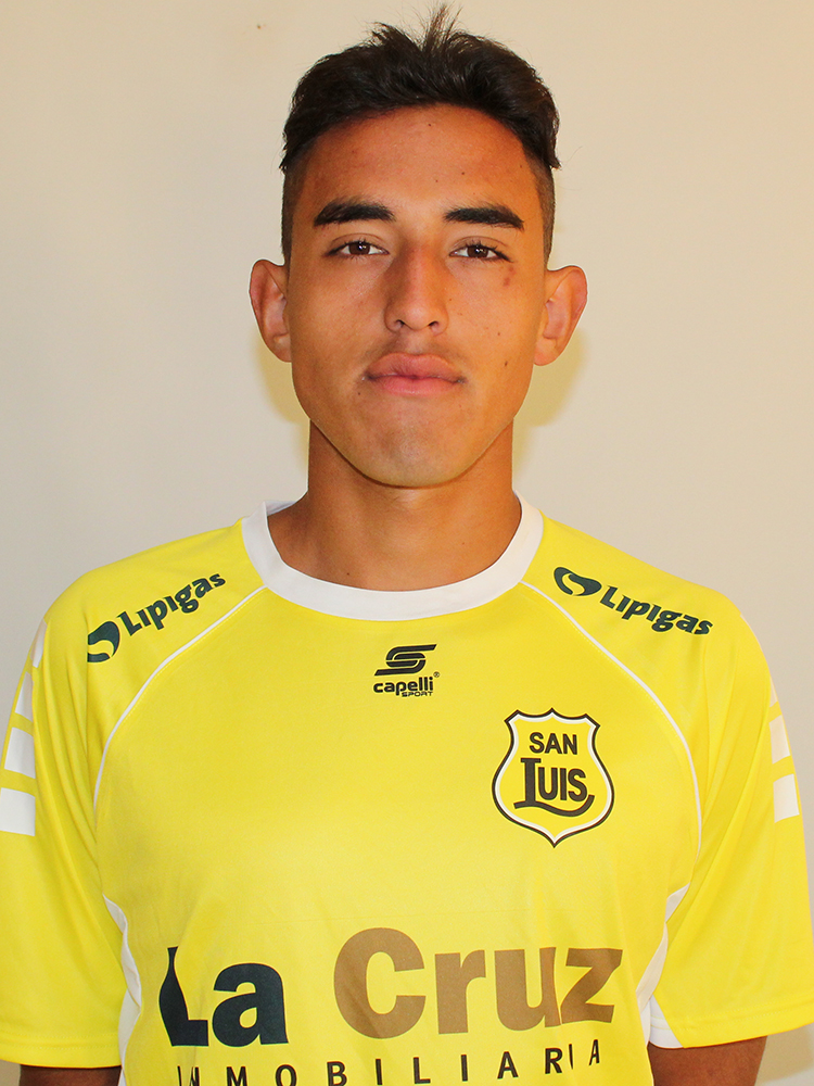 Sebastián Carrillo Sub 17 2018