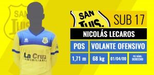 Volante ofensivo - Nicolás Lecaros