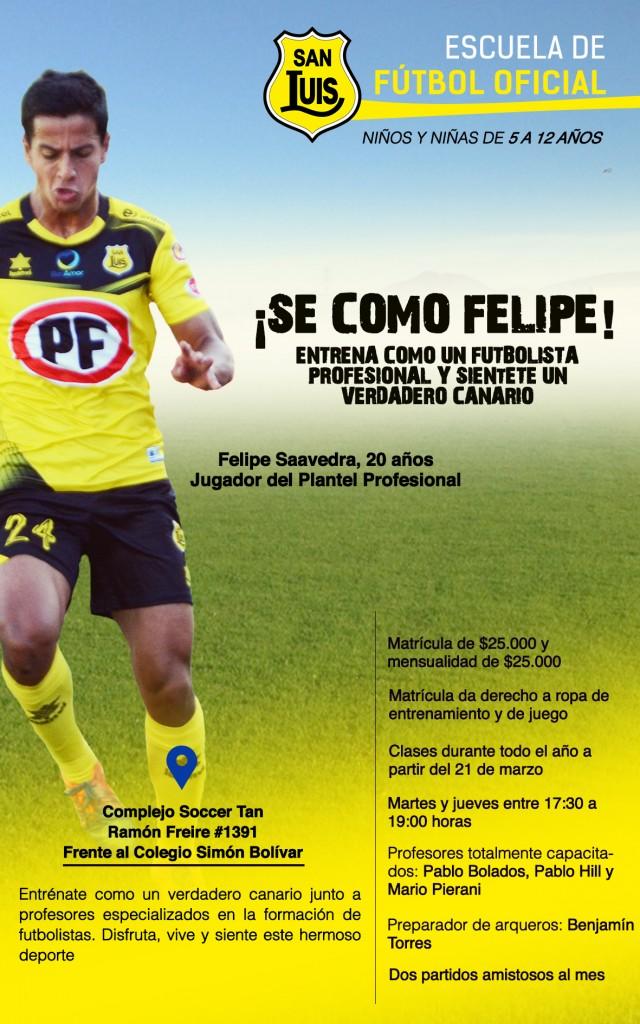 Afiche Escuela de Fútbol