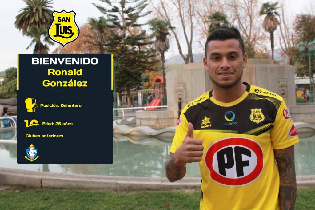 Bienvenido Ronald Gonzalez