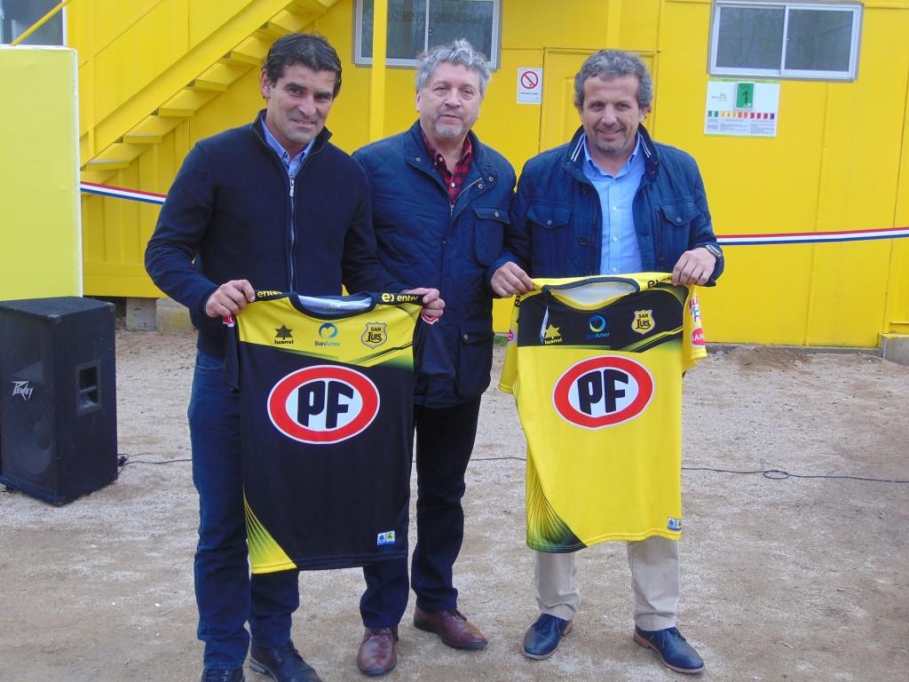 Mauricio Aros, Manuel Gahona y Marcelo Garrido