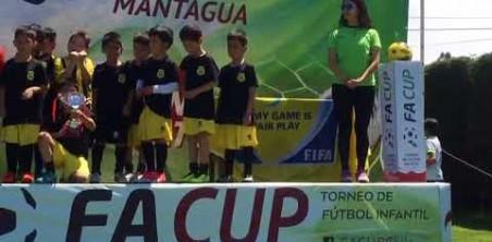 CATEGORÍA 2010-2011 CAMPEONES EN MANTAGUA CUP