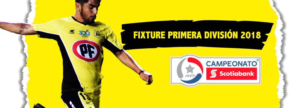Fixture Primera División