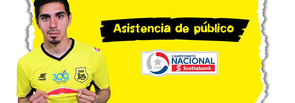 ASISTENCIA DE PÚBLICO 2018