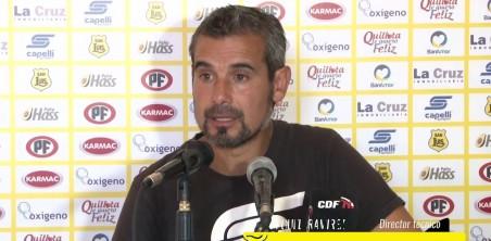 """CONFERENCIA MIGUEL RAMIREZ PREVIA AL DUELO ANTE LA """"U"""""""
