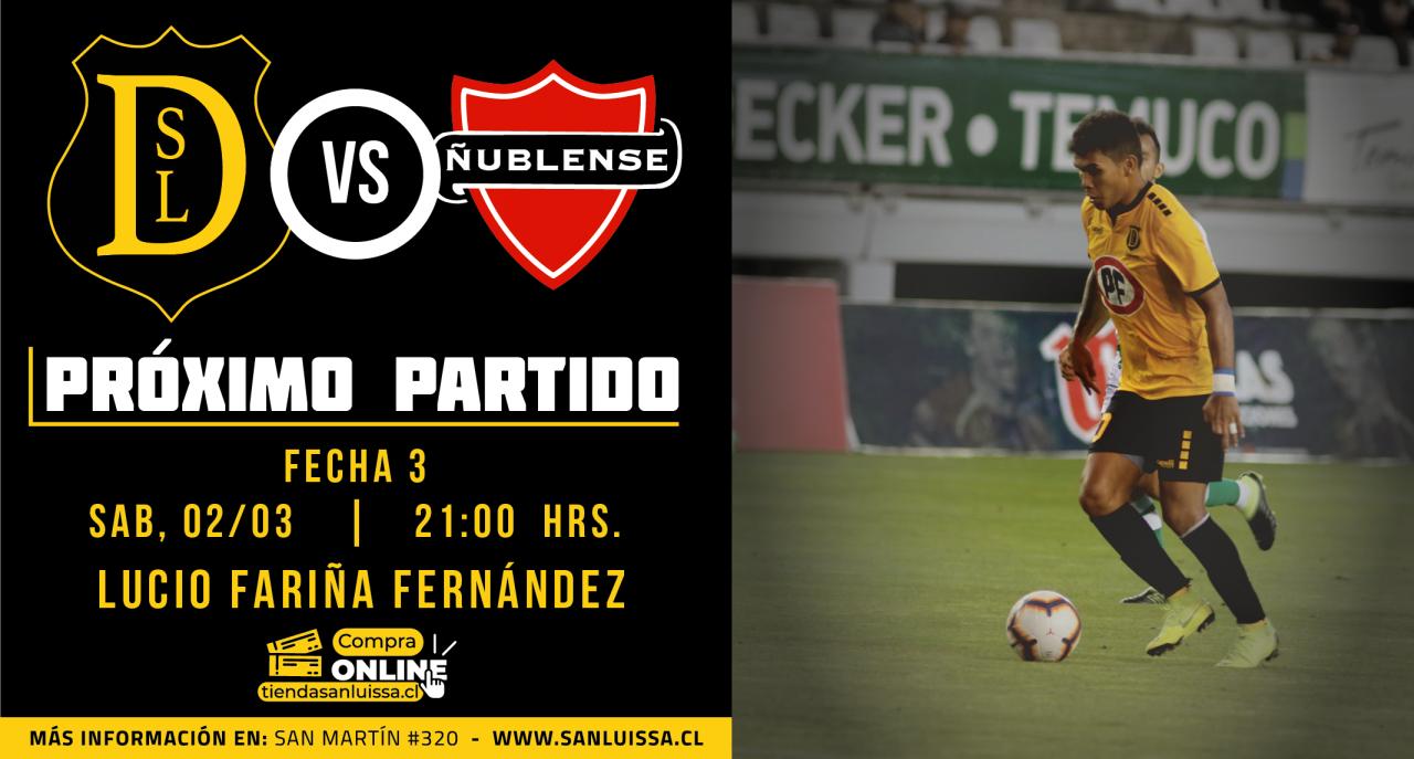 proximo partido SL vs Ñublense -02