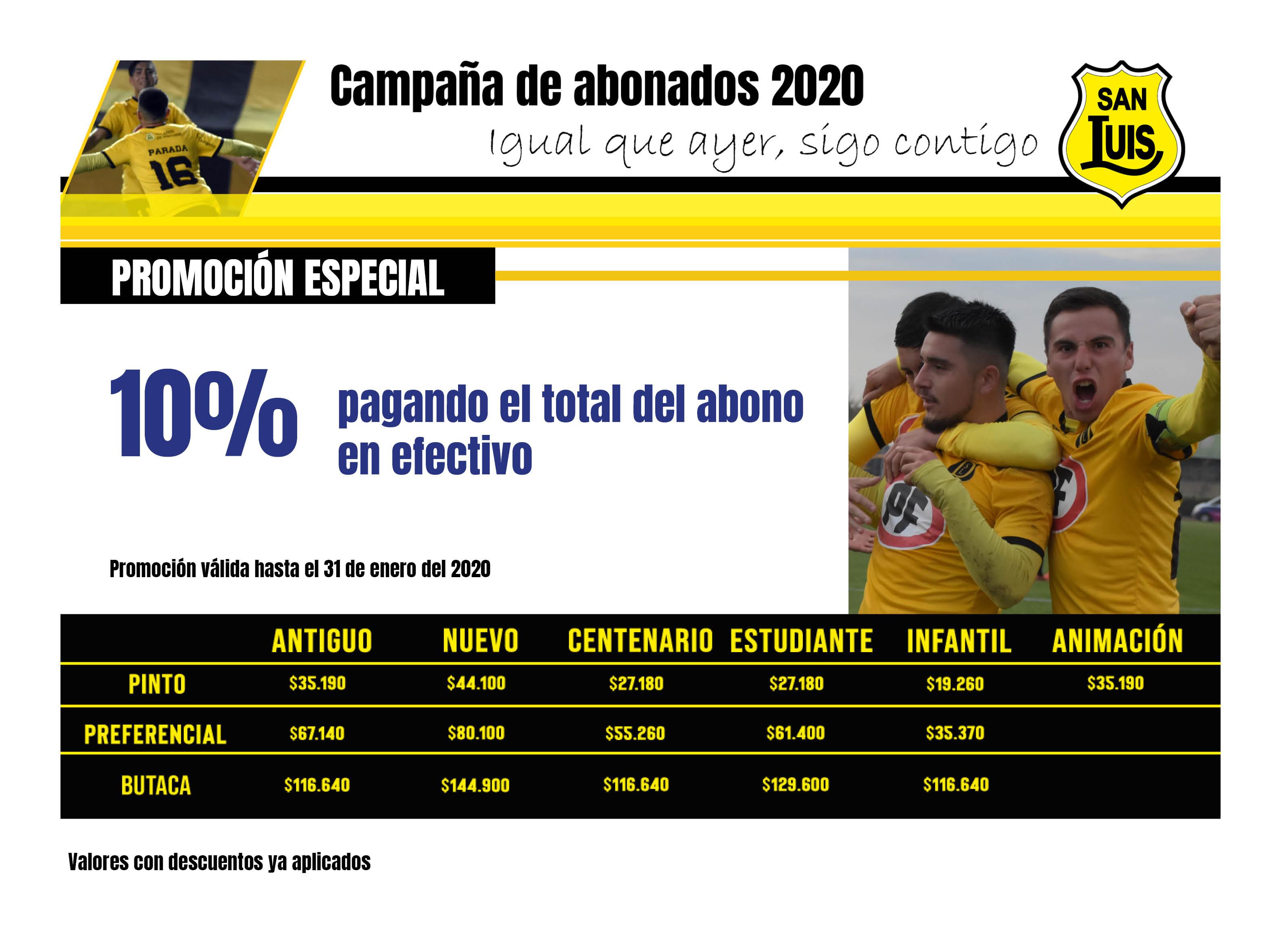 ABONOS 20203